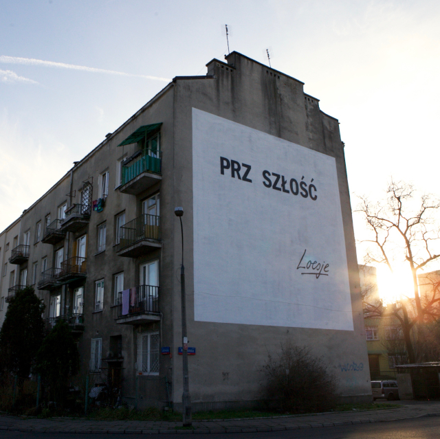 Mural Warszawa: Prz szłość