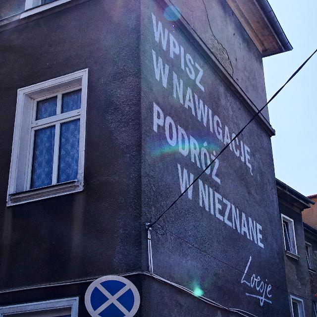 Mural Loesje - Szczecin
