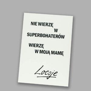 Pocztówka Loesje